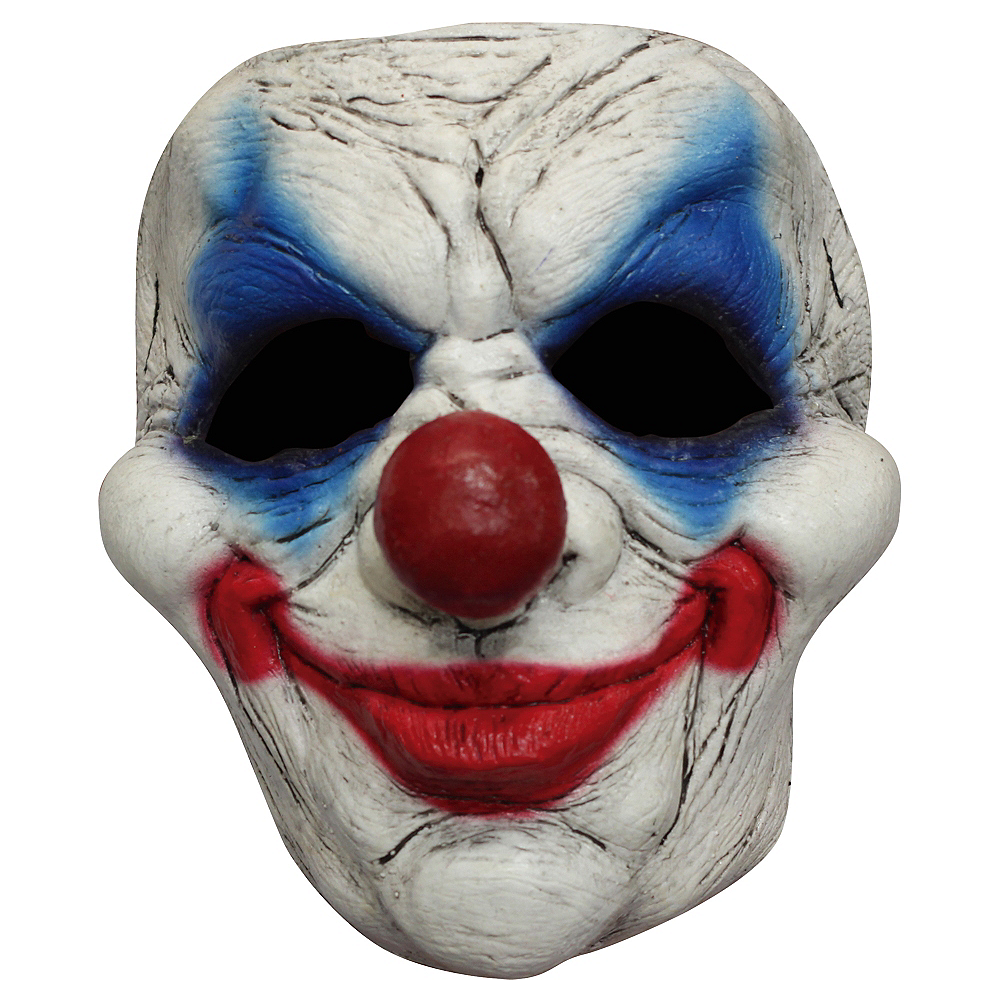Evil Clown Mask Image #1