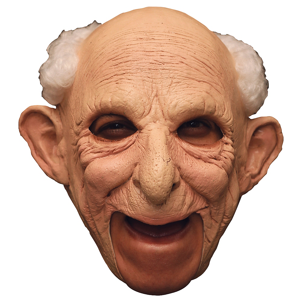 Gus Old Man Mask Deluxe Image #1