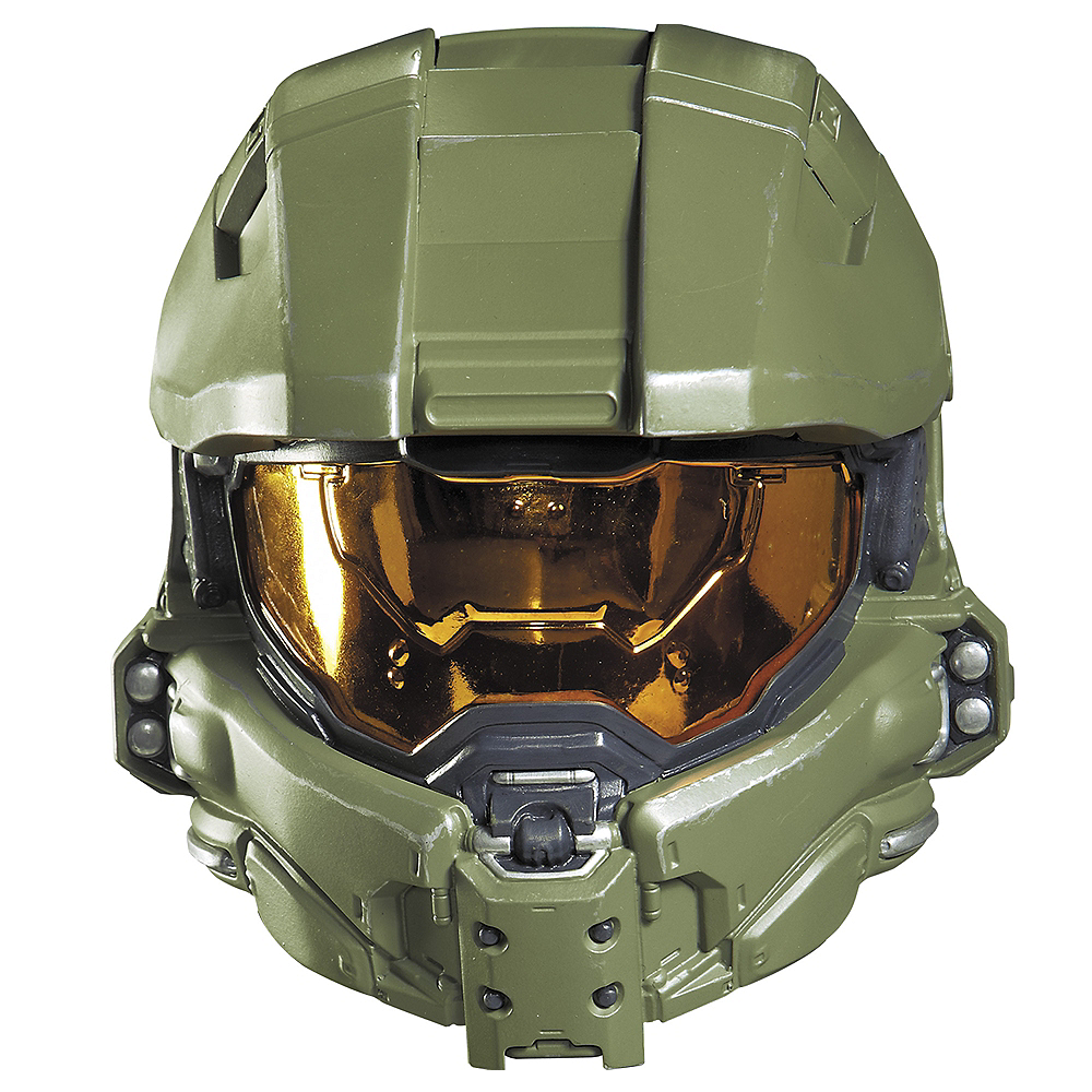 Nav Item for Child Master Chief Mask - Halo Image #1