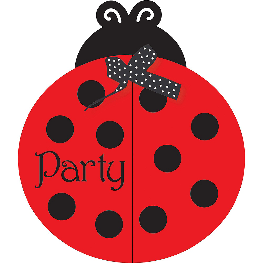 Fancy Ladybug Basic Party Kit for 8 Guests Image #11
