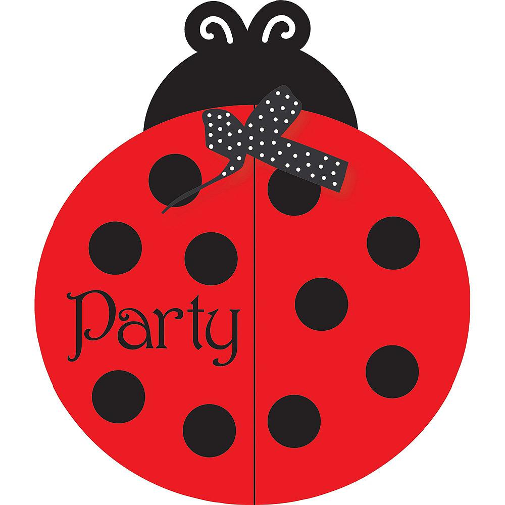 Fancy Ladybug Super Party Kit for 8 Guests Image #15