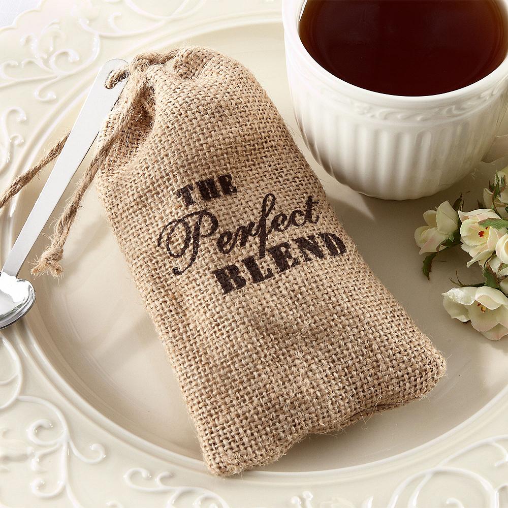 The Perfect Blend Burlap Favor Bags Image #1