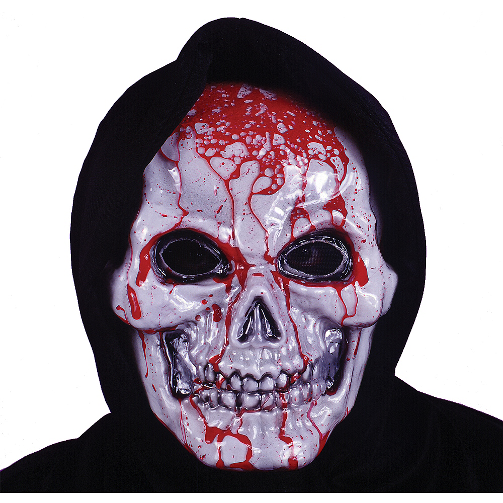 Bleeding Skull Mask Image #1