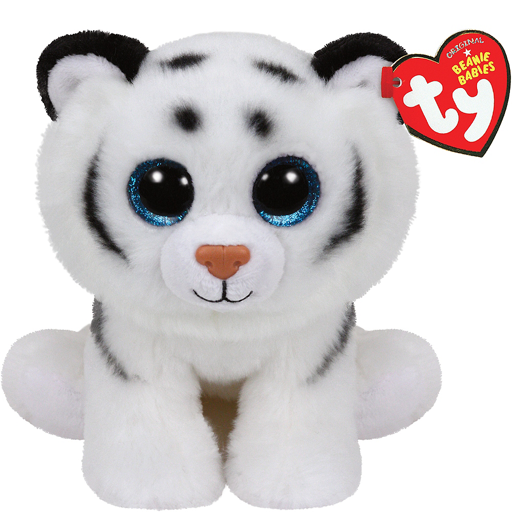 3b8147c2be8 Tundra Beanie Babies Tiger Plush 5in x 6 1 4in