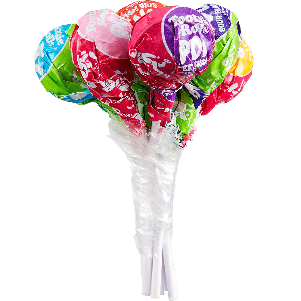 Tootsie Sweet & Sour Bunch Pops 8ct Image #1