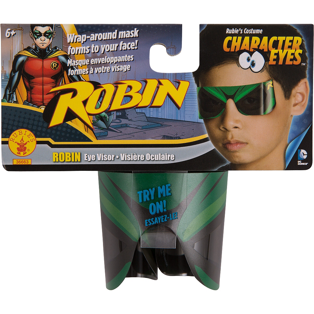 Nav Item for Child Robin Eye Mask - Batman Image #2