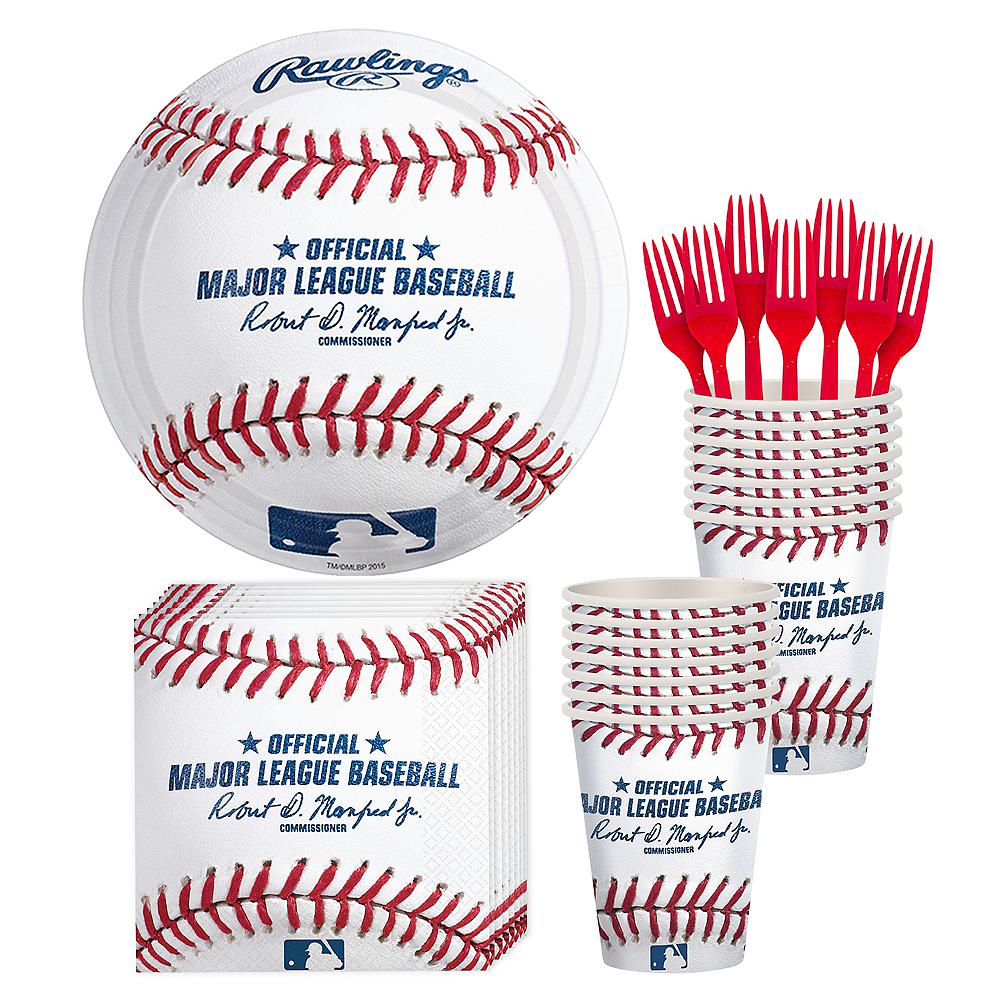 MLB Baseball Party Kit for 16 Guests Image #1