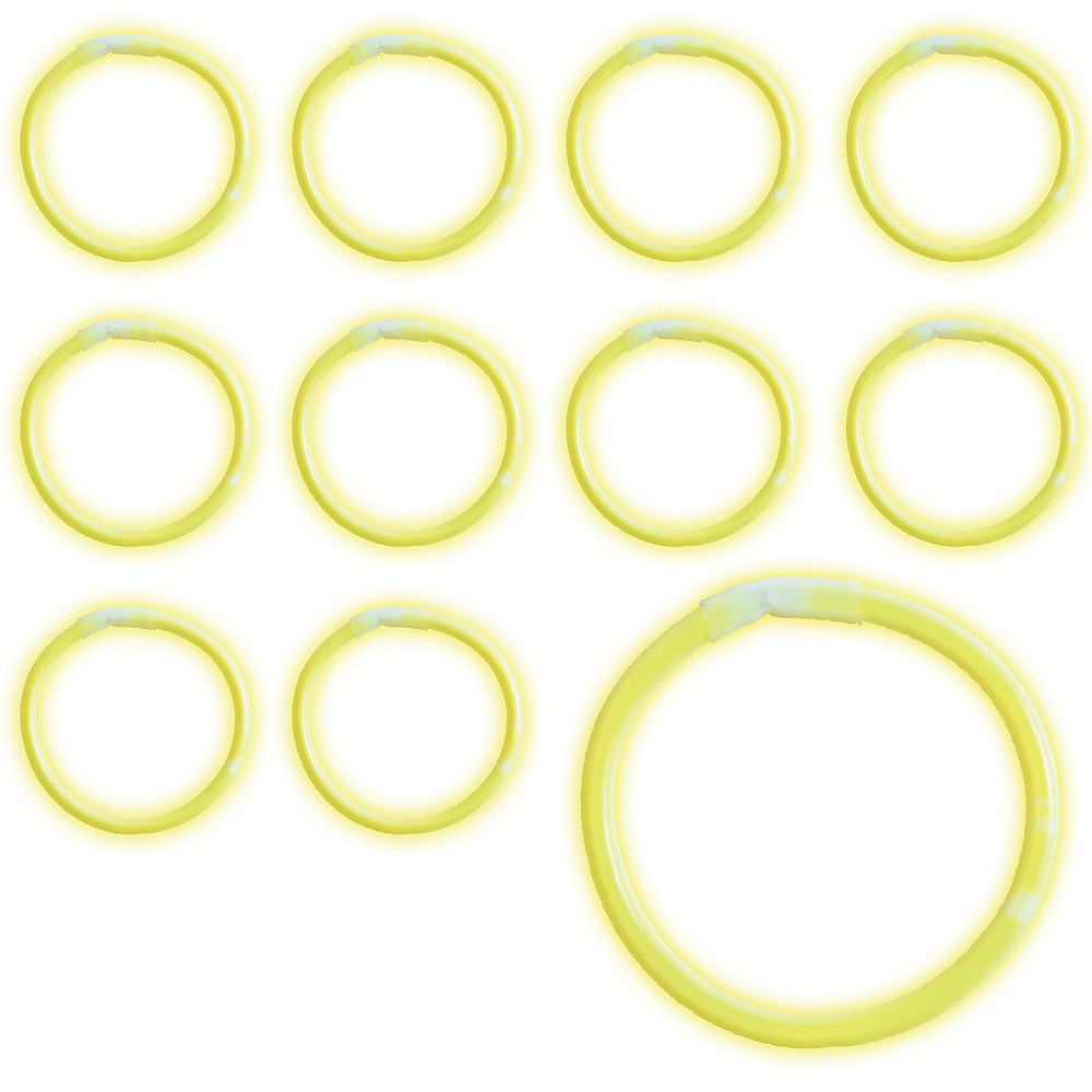 Yellow Glow Bracelets 36ct Image #1