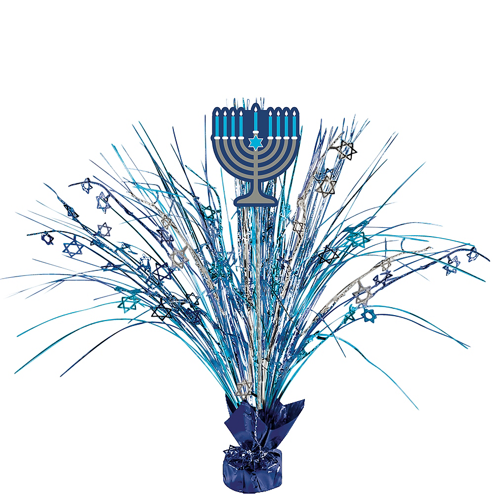 Hanukkah Spray Centerpiece Image #1