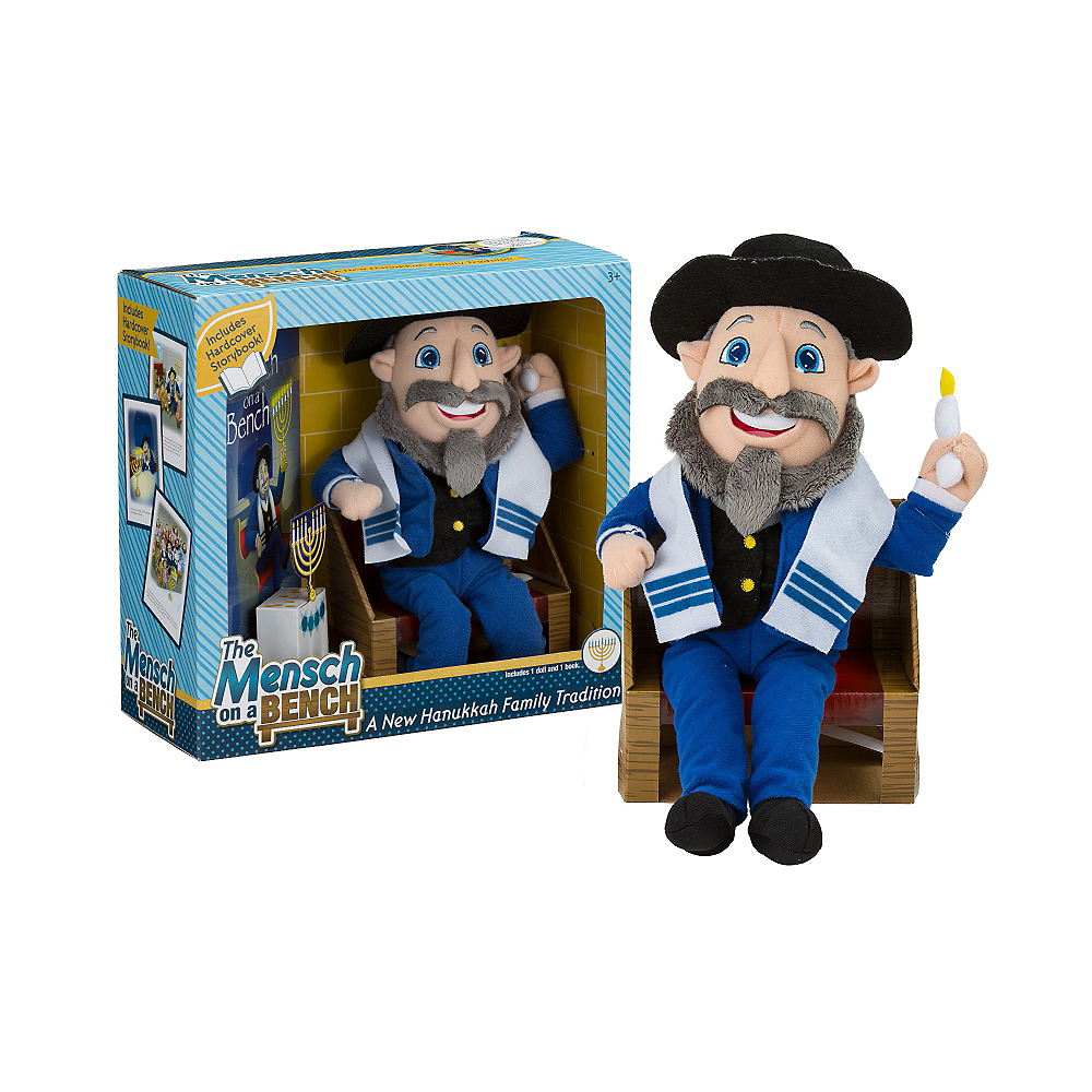 The Mensch On A Bench Doll With Storybook Party City