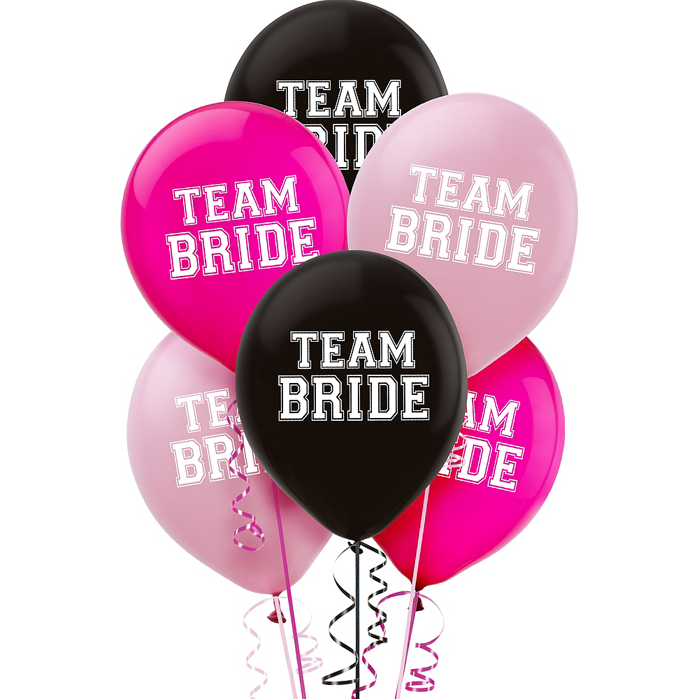 Team Bride Balloons 15ct Image #1