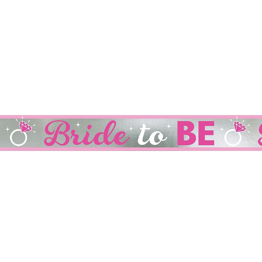 Bride to Be Foil Banner Image #1