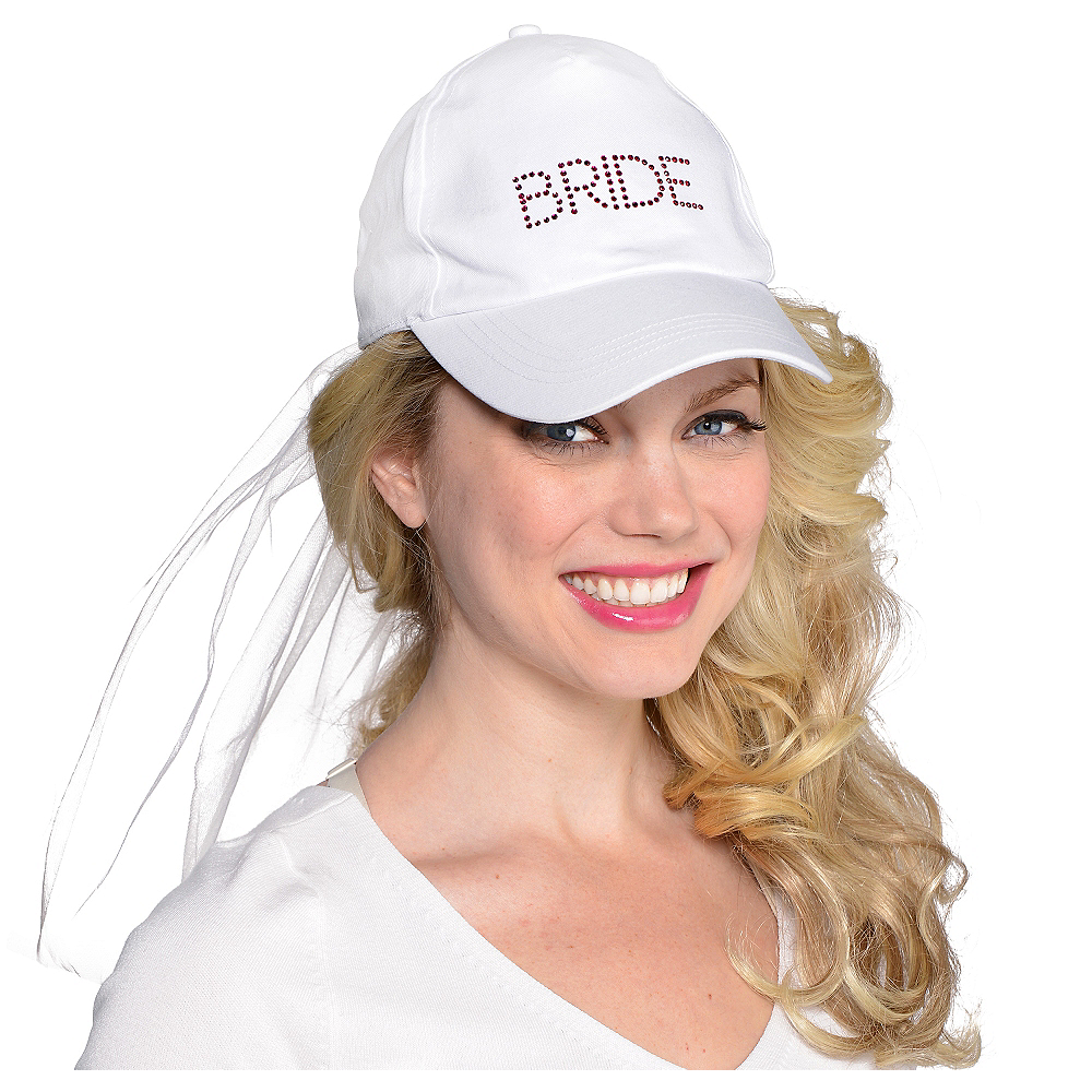 Classy Bride Baseball Hat Image #1