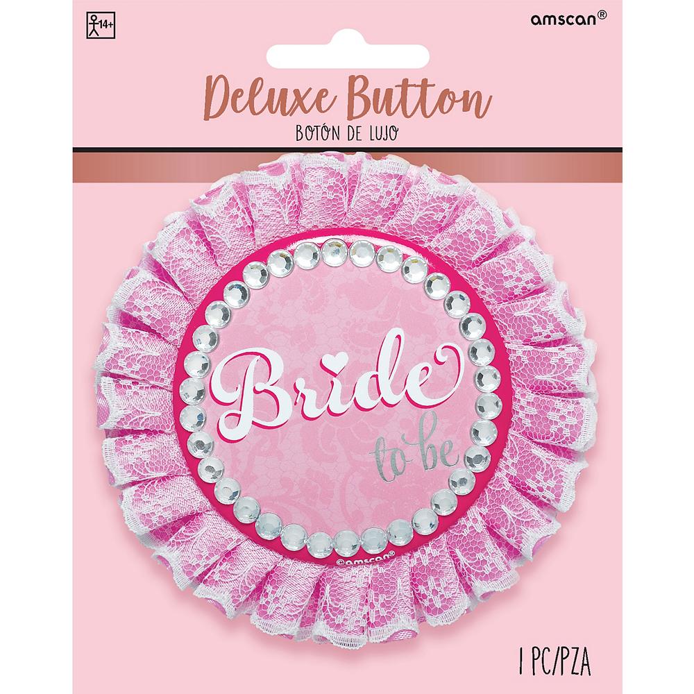 Classy Bride Button Deluxe Image #2