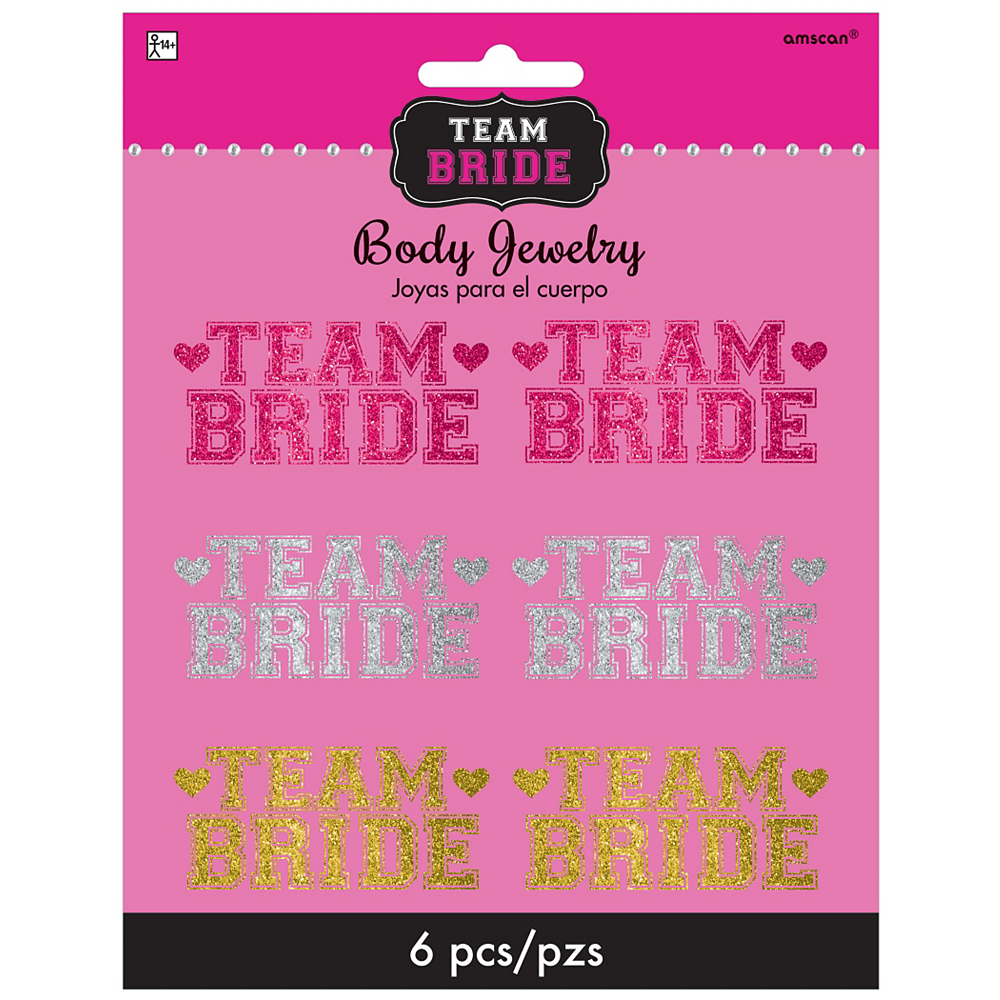 Team Bride Body Jewelry 6ct Image #2
