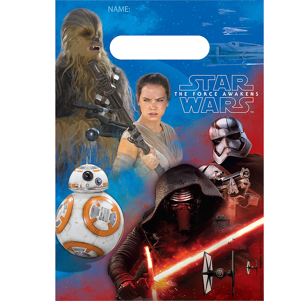 Star Wars 7 The Force Awakens Favor Bags 8ct Image #1