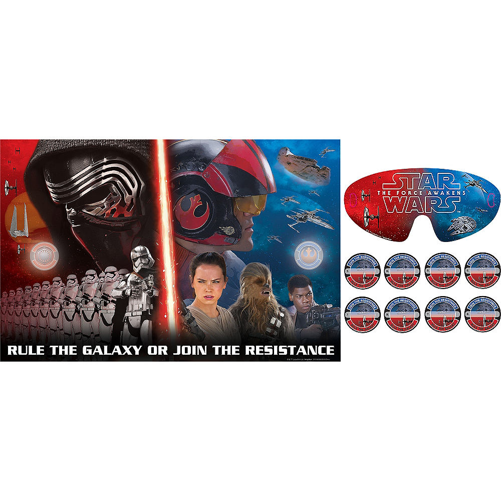 Nav Item for Star Wars 7 The Force Awakens Party Game 10pc Image #1