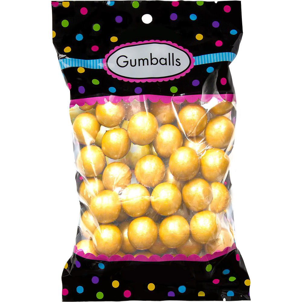Gold Gumballs 48pc Image #1