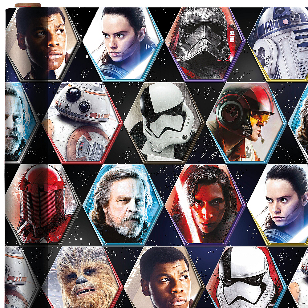 Star Wars 7 The Force Awakens Gift Wrap Image #1