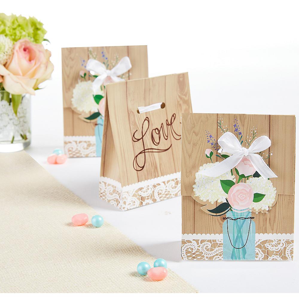 Rustic Wedding Favor Boxes Image #1