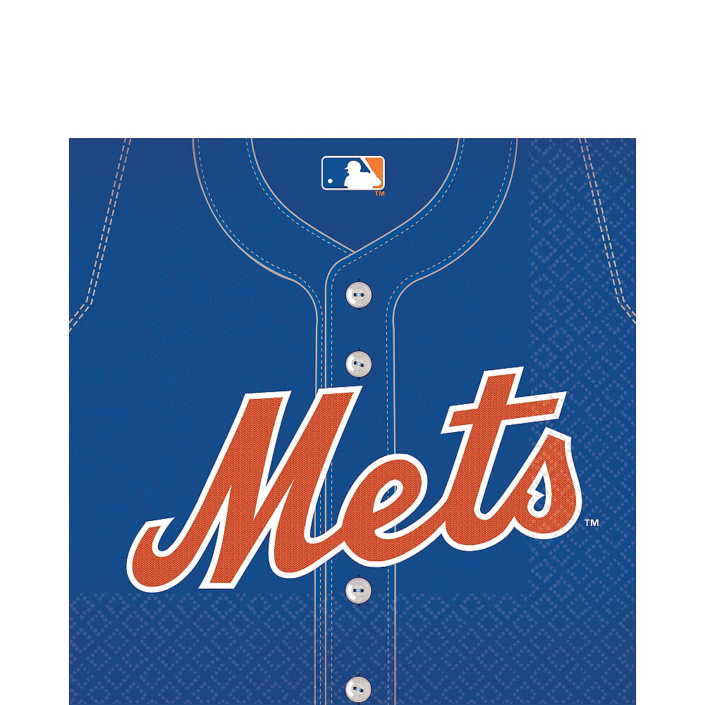 New York Mets Lunch Napkins 36ct Image #1