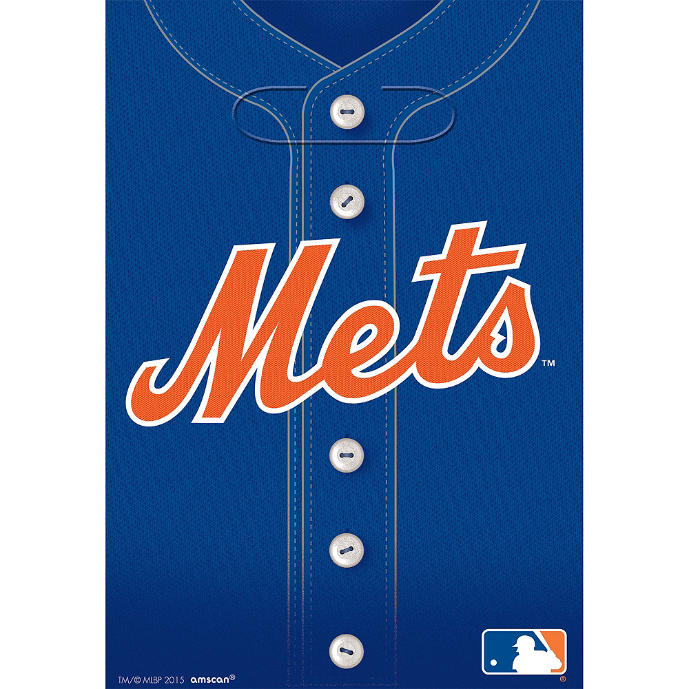 New York Mets Favor Bags 8ct Image #1