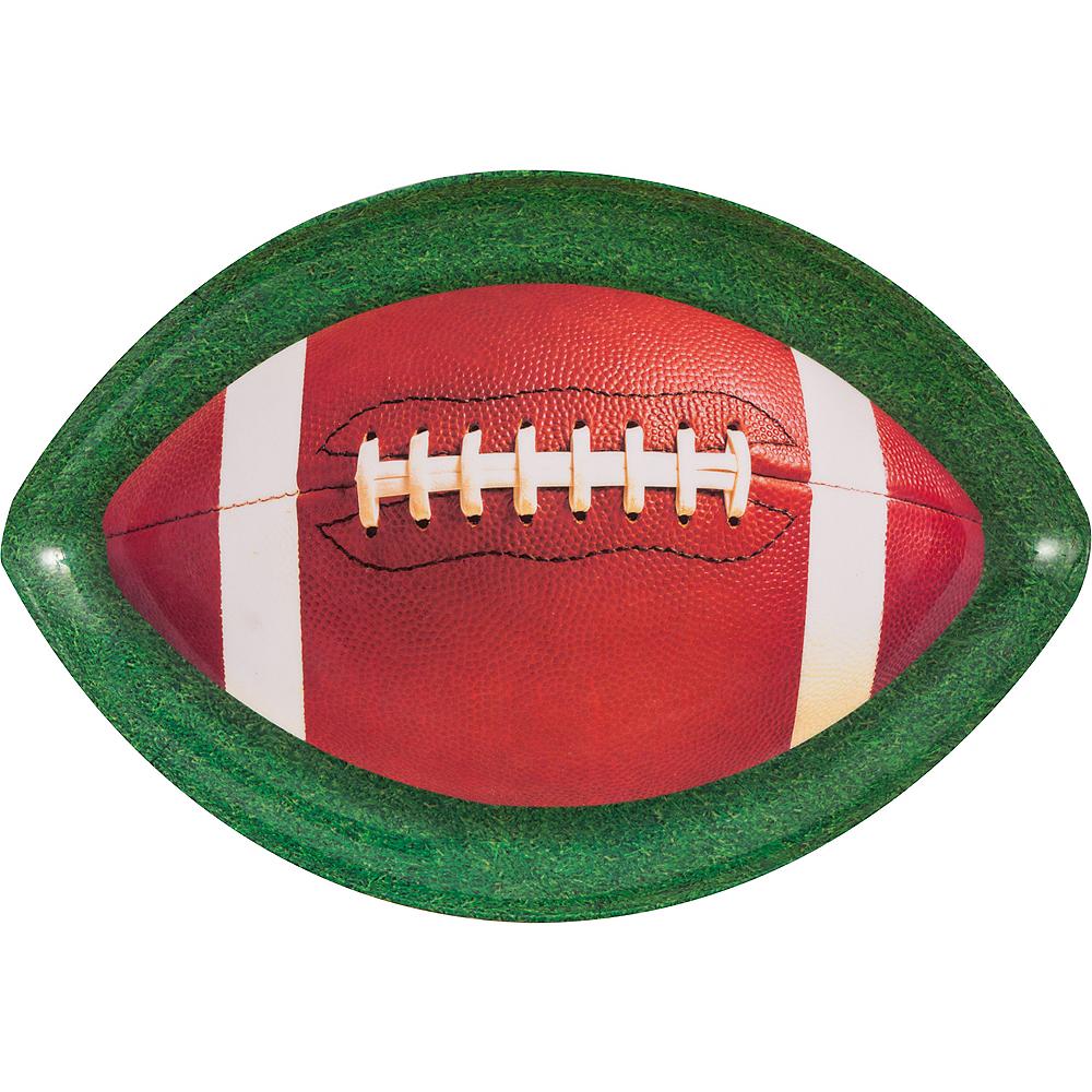 Football Oval Platter Image #1
