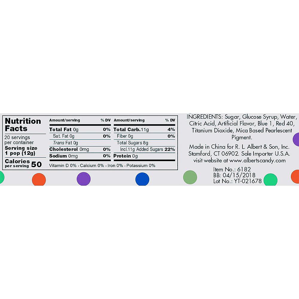 Lavender Twisty Lollipops 20pc Image #2