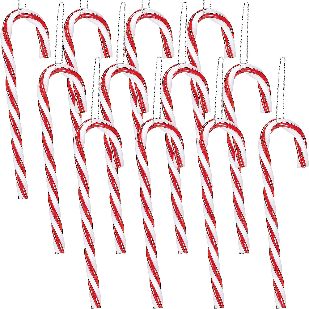 Candy Cane Ornaments 12ct Image #1
