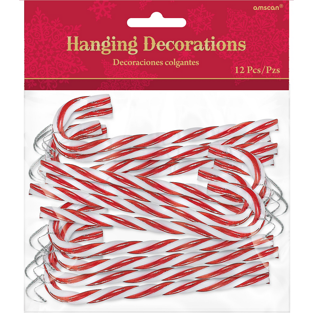 Candy Cane Ornaments 12ct Image #2
