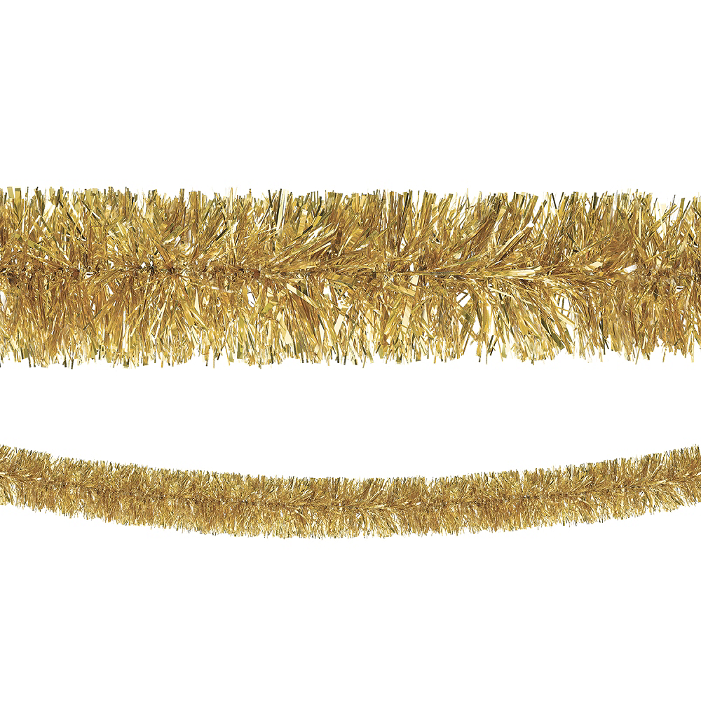 Gold Boa Tinsel Garland Image #1