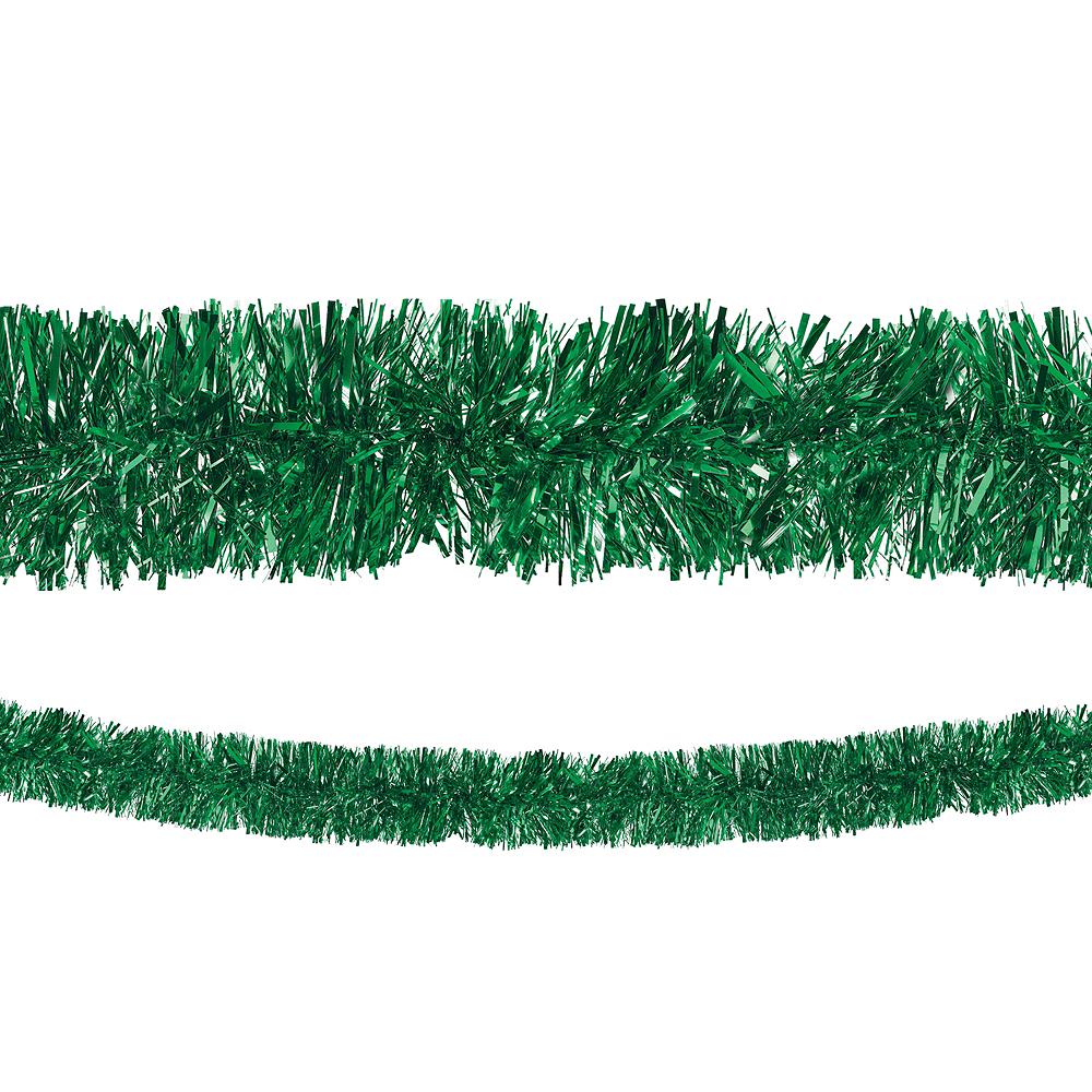 Green Boa Tinsel Garland Image #1