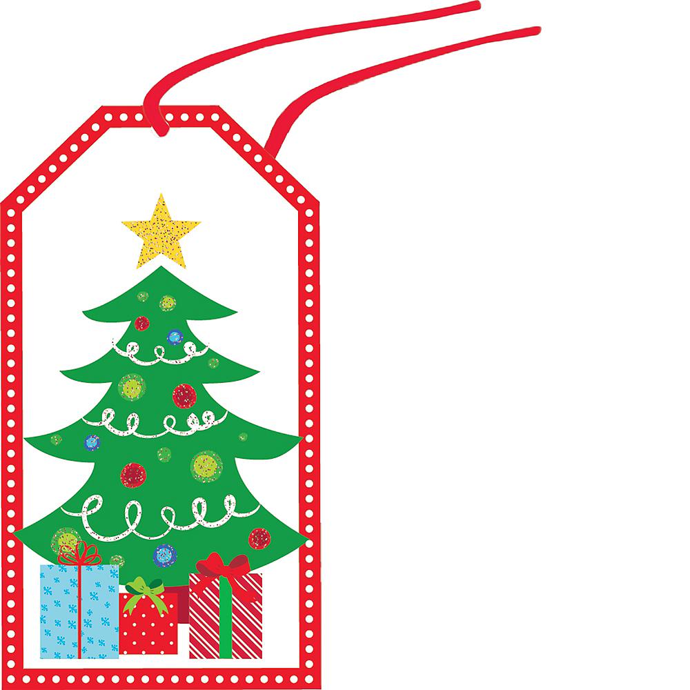Modern Christmas Gift Tags 36ct Image #4