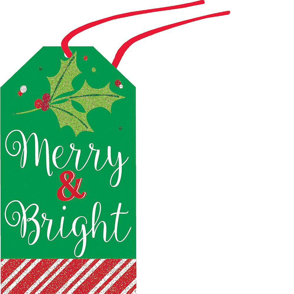 Modern Christmas Gift Tags 36ct Image #6