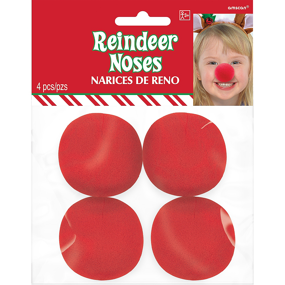 Reindeer Noses 4ct Image #2