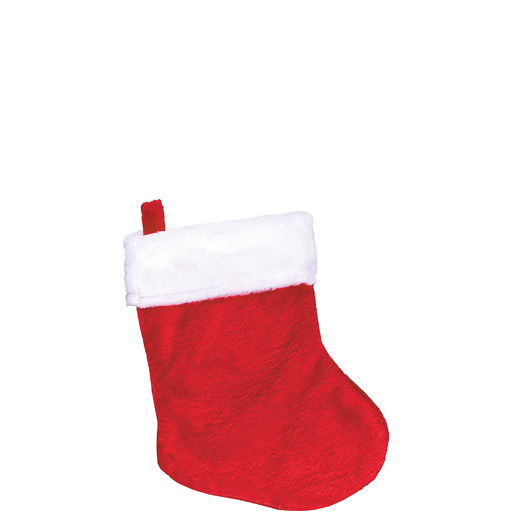 Mini Red Christmas Stocking Image #1