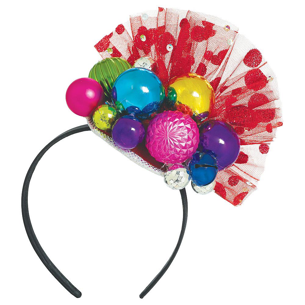 Holiday Ornament Fascinator Headband Image  1 34cbfd1afba