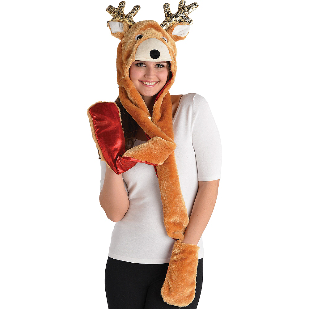 Reindeer Snood Image #2