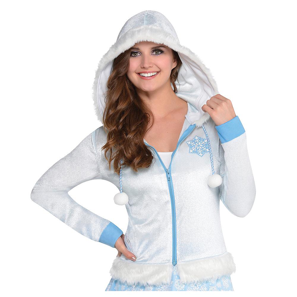 Snowflake Zip-Up Hoodie Image #1