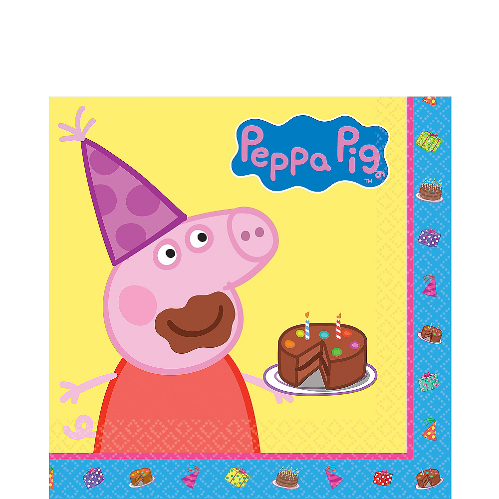 Peppa Pig Lunch Napkins 16ct Image #1