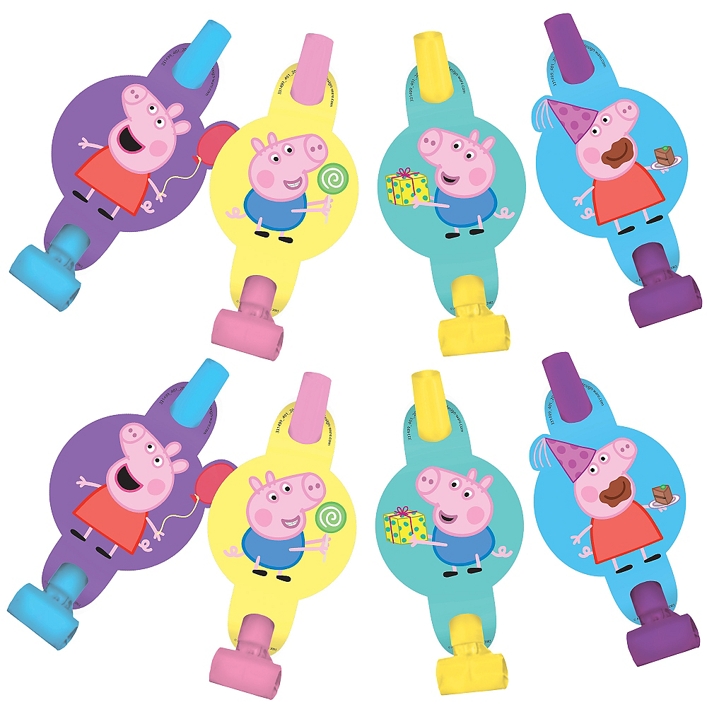 Nav Item for Peppa Pig Blowouts 8ct Image #1