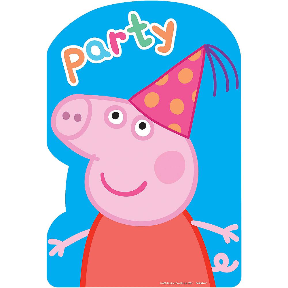 Peppa Pig Invitations 8ct Image #1