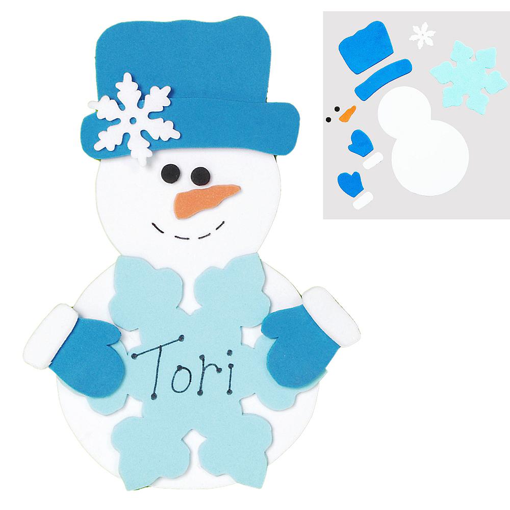 Snowman Craft Kit Image #1