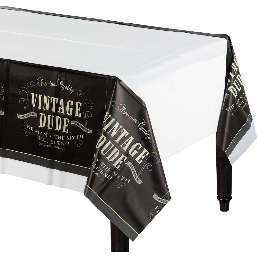 Vintage Dude Table Cover Image #1