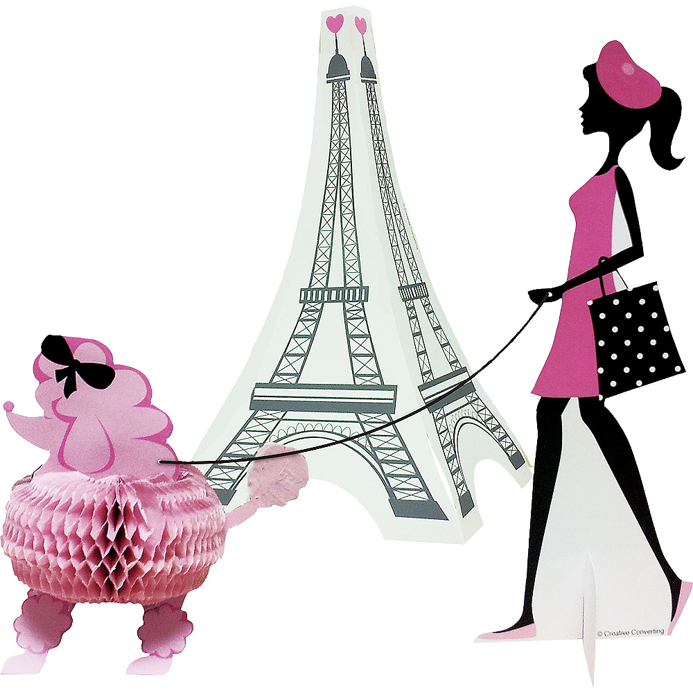 Nav Item for Pink Paris Centerpieces  Image #1
