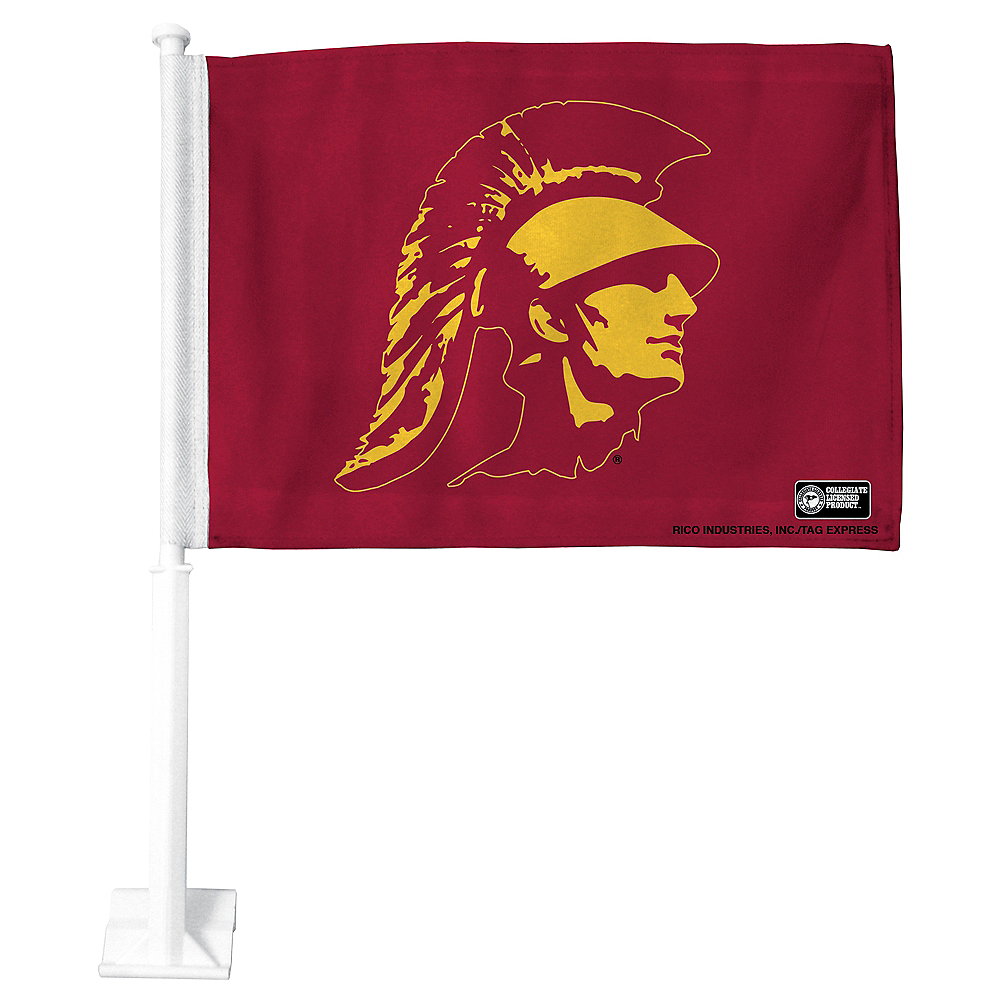 USC Trojans Car Flag Image #1