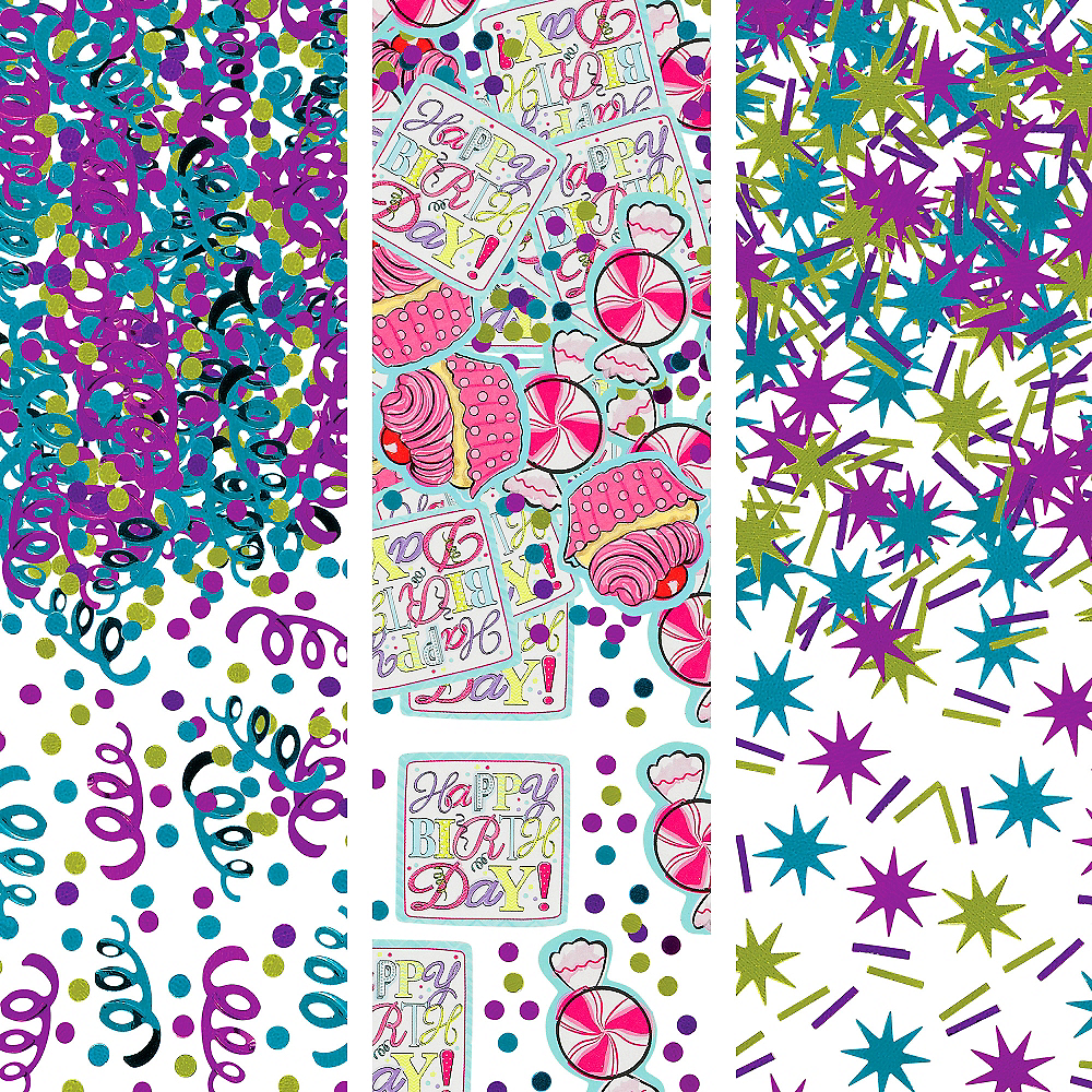 Birthday Sweets Confetti Image #1