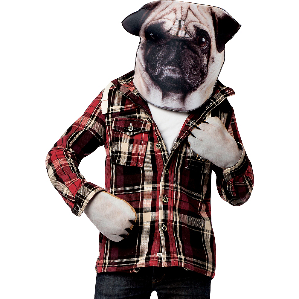 Pug Costume Accessory Kit 2pc Image #1