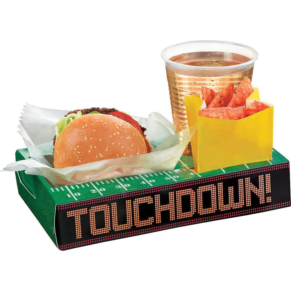 Football Field Snack Box Trays 8ct Image #1