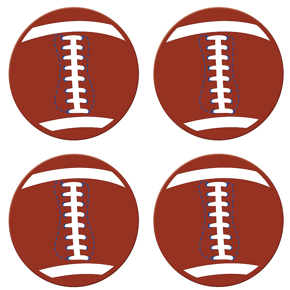 Football Disc Toss Game 5pc Image #2